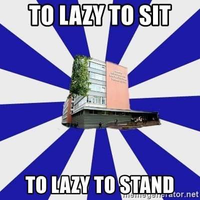 Tipichnuy MGLU - TO LAZY TO SIT TO LAZY TO STAND