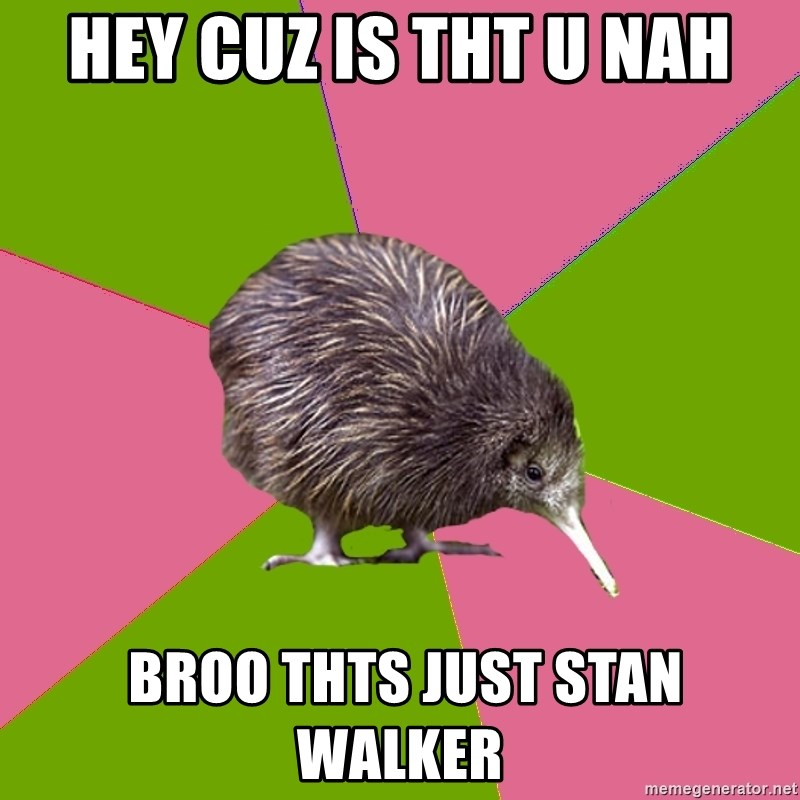 Choir Kiwi - HEY CUZ IS THT U NAH  BROO THTS JUST STAN WALKER