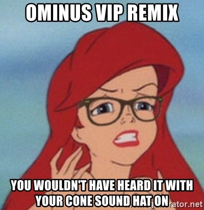 Hipster Mermaid - ominus vip remix you wouldn't have heard it with your cone sound hat on