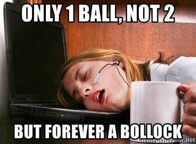 Freelancer  - ONLY 1 BALL, NOT 2 BUT FOREVER A BOLLOCK