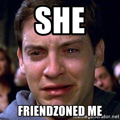 spiderman cry - She Friendzoned me