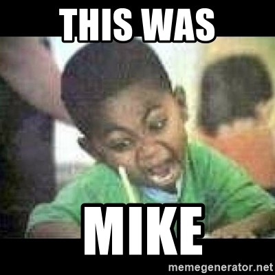 Black kid coloring - this was  mike