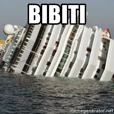 Sunk Cruise Ship - Bibiti