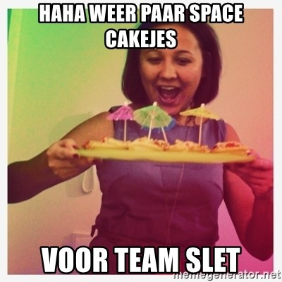 Typical_Ksyusha - HAHA WEER PAAR SPACE CAKEJES VOOR TEAM SLET