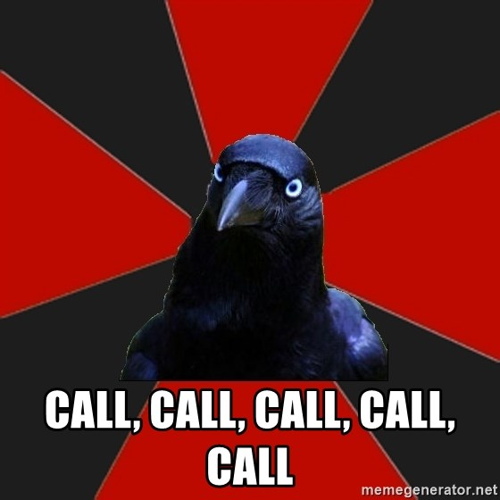 Gothiccrow -  call, call, call, call, call