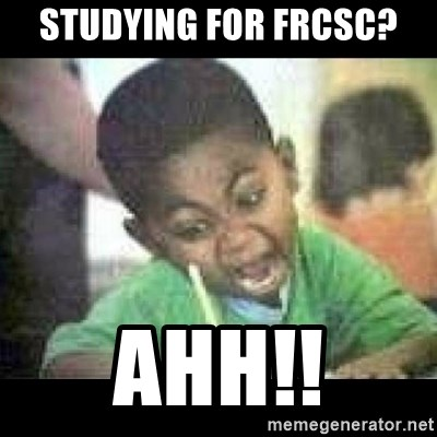 Black kid coloring - Studying for FRCSC? AHH!!
