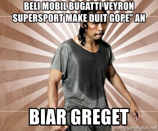 "mad dog biar greget - BELI MOBIL Bugatti Veyron Supersport MAKE DUIT GOPE"" AN BIAR GREGET"