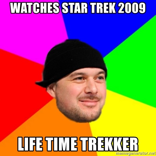 King Kool Savas - watches star trek 2009 life time trekker