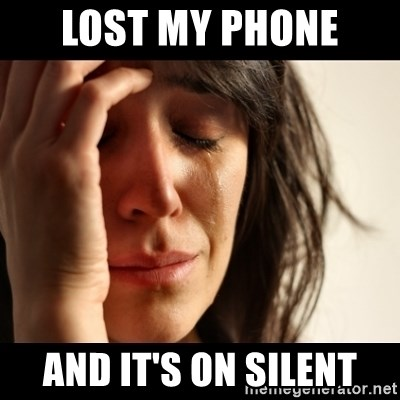 crying girl sad - LOST MY PHONE  AND IT'S ON SILENT