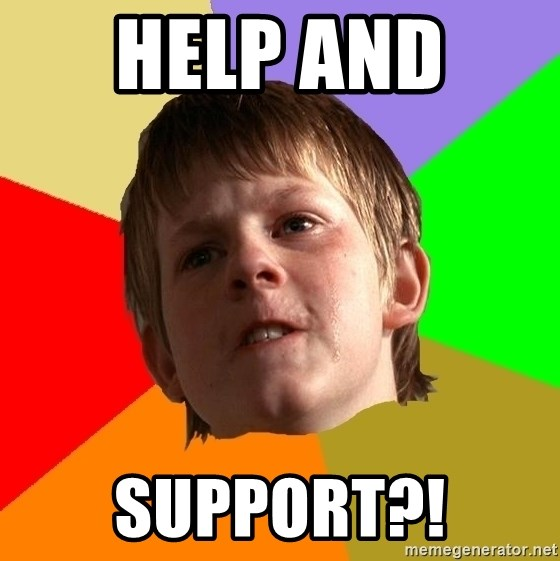 Angry School Boy - help and  support?!