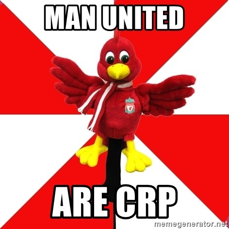 Liverpool Problems - MAN UNITED ARE CRP