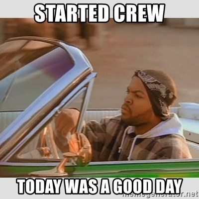Ice Cube Good Day - STARTED creW TODAY WAS A GOOD DAY