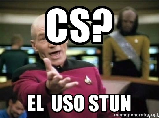 Why the fuck - CS? EL  USO STUN