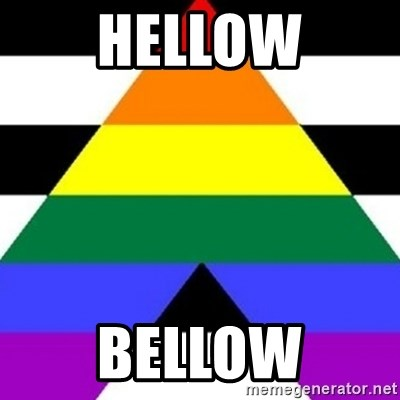 Bad Straight Ally - HELLOW BELLOW