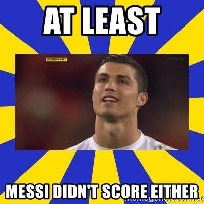 CRISTIANO RONALDO INYUSTISIA - At least  Messi didn't score either