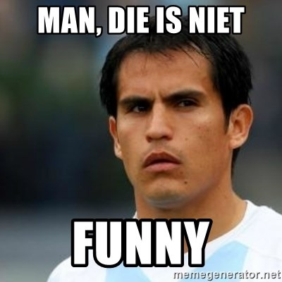 Conspiracy Ledesma II - MAN, DIE IS NIET FUNNY