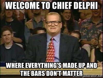 DrewCarey - welcome to chief delphi where everything's made up and the bars don't matter