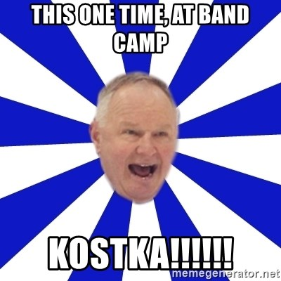 Crafty Randy - This one time, at band camp kostka!!!!!!