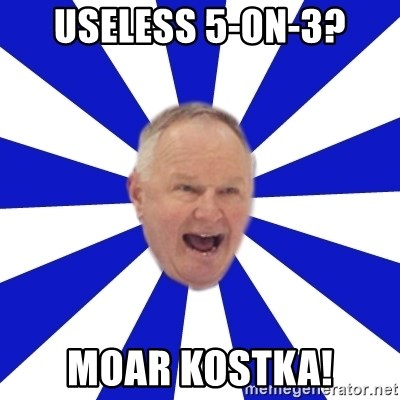 Crafty Randy - Useless 5-on-3? moar KOSTKA!