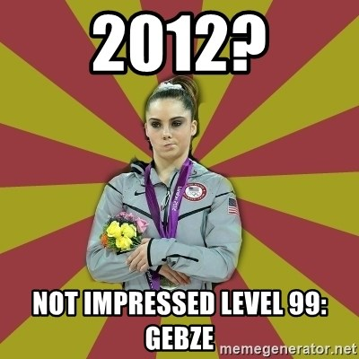 Not Impressed Makayla - 2012? not ımpressed level 99: gebze