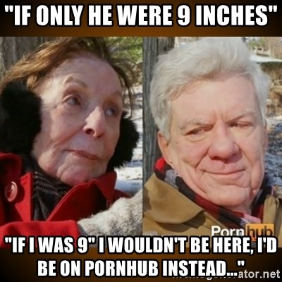 """Pornhub's Super Bowl Ad - """"if only he were 9 inches"""" """"If I was 9"""" I wouldn't be here, I'd be on PORNHUB instead..."""""""