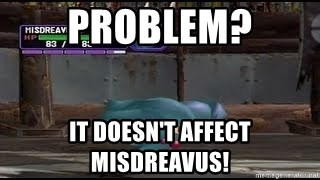 MISDREAVUS - problem? it doesn't affect misdreavus!