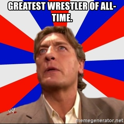 Regal Remembers - GREATEST WRESTLER OF ALL-TIME.