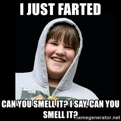 Samin makro - i just farted can you smell it? i say, can you smell it?