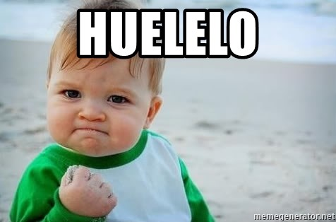 fist pump baby - huelelo