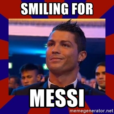 CR177 - SMILING FOR MESSI
