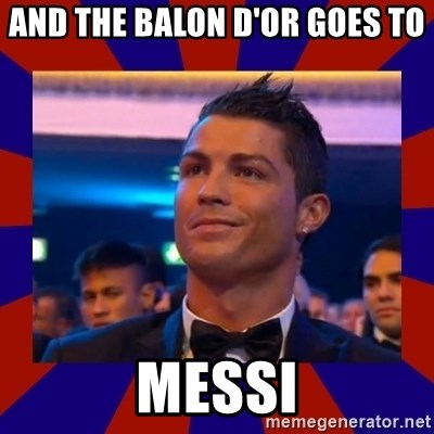 CR177 - AND THE BALON D'OR GOES TO                        MESSI
