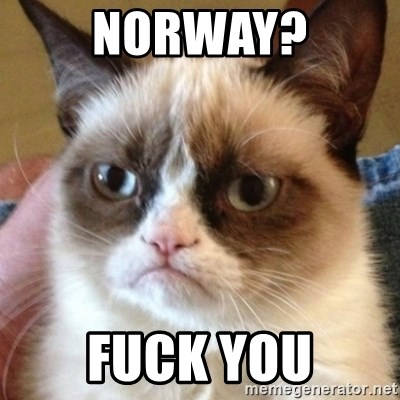 who the fuck is norway