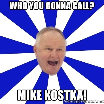 Crafty Randy - who you gonna call? mike kostka!