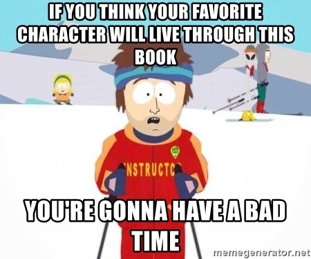 South Park Ski Teacher - If you think your favorite character will live through this book You're gonna have a bad time