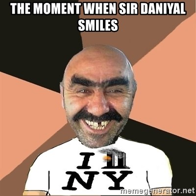 Provincial man2 - The moment when sir daniyal smiles