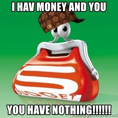 Scumbag Spar - I HAV MONEY AND YOU YOU HAVE NOTHING!!!!!!