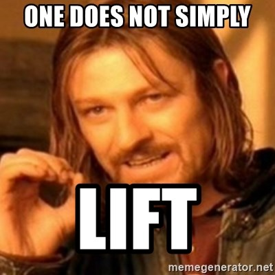 ODN - ONE DOES NOT SIMPLY  LIFT