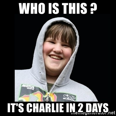 Samin makro - WHO IS THIS ? IT'S CHARLIE IN 2 DAYS