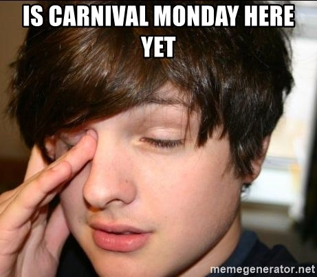 Sleepy Sam Webb - IS CARNIVAL MONDAY HERE YET