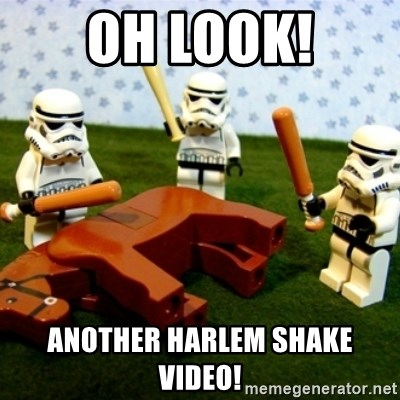 Beating a Dead Horse stormtrooper - Oh look! Another harlem shake video!
