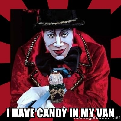 willianss -  I HAVE CANDY IN MY VAN