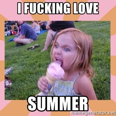 I Fucking Love Ice-cream - I Fucking Love SUMMER