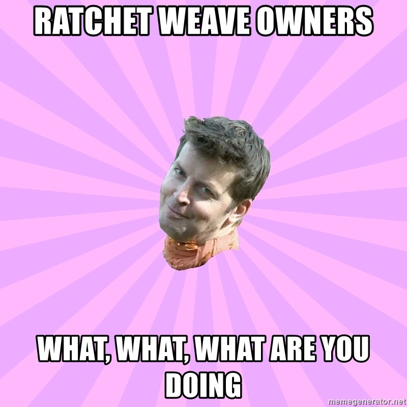Sassy Gay Friend - Ratchet weave owners what, what, what are you doing