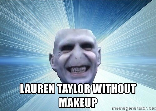 vold -  LAUREN TAYLOR WITHOUT MAKEUP
