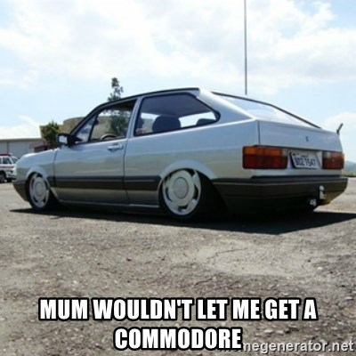 treiquilimei -  MUM WOULDN'T LET ME GET A COMMODORE