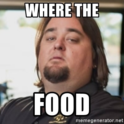 chumlee - WHERE THE FOOD