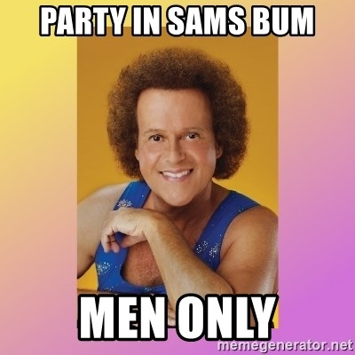 Richard Simmons - Party In Sams Bum Men ONLY