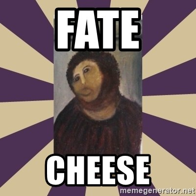 Retouched Ecce Homo - FATE CHEESE