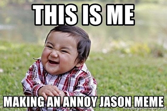 Evil Asian Baby - this is me making an annoy jason meme
