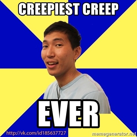 Jerk Aldarik - CREEPIEST CREEP EVER